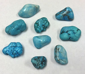 Dyed Howlite